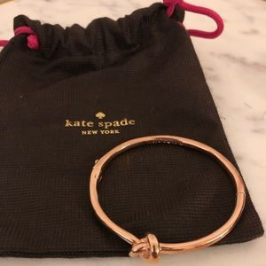 Kate Spade Sailor's Knot Bracelet, Rose Gold